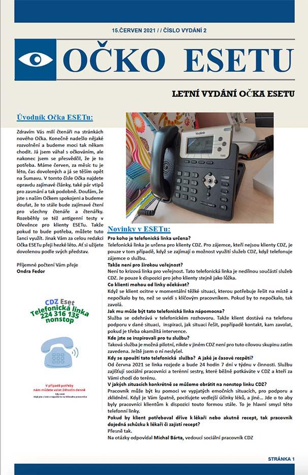 Časopis Očko Esetu - červen 2021